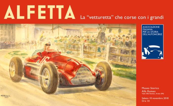 9d216d5df4 AISA: al Museo di Arese la conferenza sulle Alfa Romeo 158 e 159 Alfetta