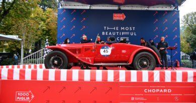 Mille Miglia 2020: vincono Andrea e Roberto Vesco su Alfa Romeo